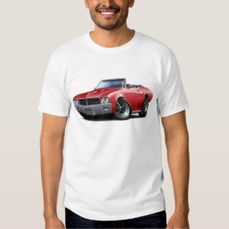 1970-72 Buick GS Red Convertible T-shirts