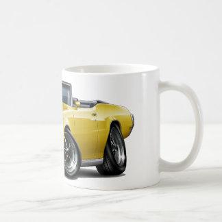 1970-72 Buick GS Yellow Convertible Coffee Mug
