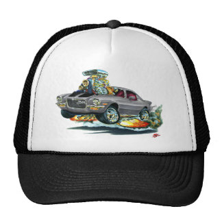 1970-72 Camaro Grey-Black Car Trucker Hat