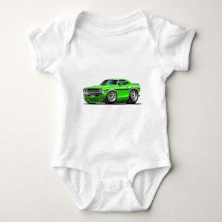 1970-72 Challenger Green Car Baby Bodysuit