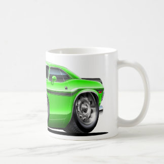 1970-72 Challenger Green Car Coffee Mug