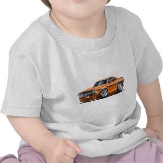 1970-72 Challenger Orange Car Tshirts