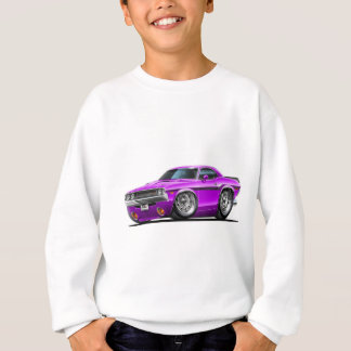 1970-72 Challenger Purple Car Sweatshirt