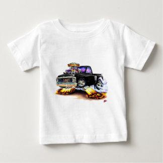 1970-72 Chevy C10 Black Truck Baby T-Shirt