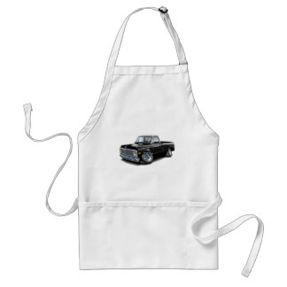 1970-72 Chevy C10 Black-White Top Truck Aprons