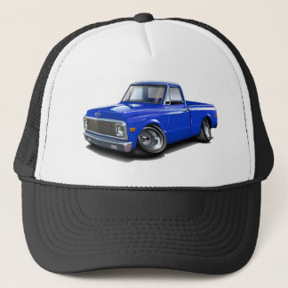 1970-72 Chevy C10 Blue Truck Trucker Hat