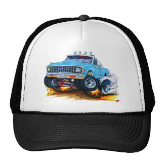1970-72 Chevy CK1500 Lt BlueTruck Trucker Hat