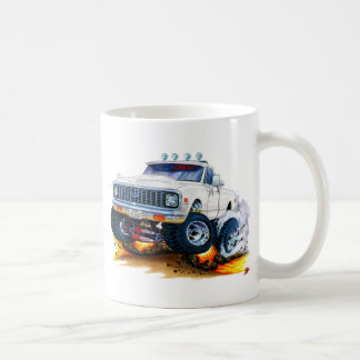 1970-72 Chevy CK1500 White Truck Coffee Mug