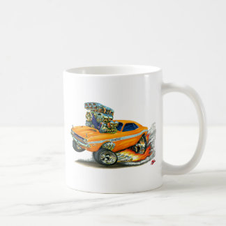 1970-72 Dodge Challenger Orange Car Coffee Mug