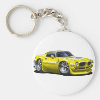 1970/72 Trans Am Yellow Car Keychain