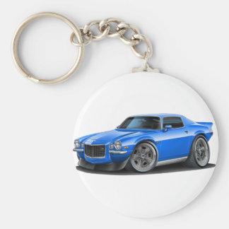 1970-73 Camaro Blue Car Keychain
