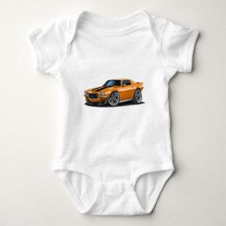 1970-73 Camaro Orn/Blk Car Baby Bodysuit