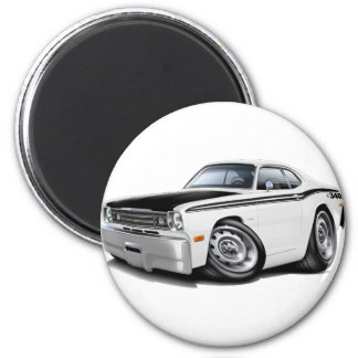 1970-74 Duster 340 White Car Magnet