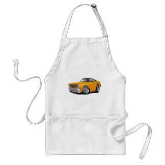 1970-74 Duster Orange Black Top Car Standard Apron