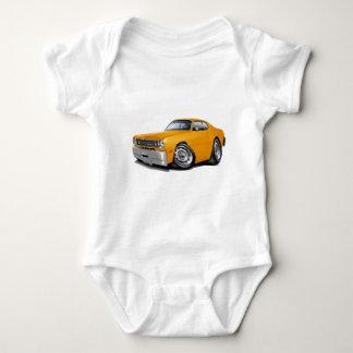 1970-74 Duster Orange Car Baby Bodysuit