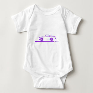 1970-74 Duster Purple Car Shirts