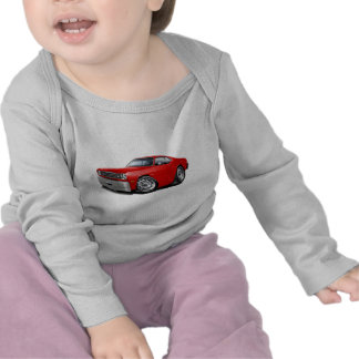 1970-74 Duster Red Car T Shirt