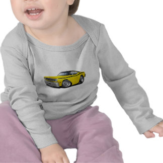 1970-74 Duster Yellow-Black Top Car T-shirt