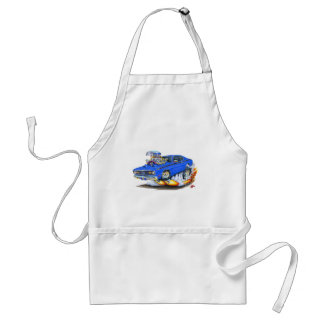 1970-74 Plymouth Duster Blue Car Apron