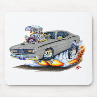 1970-74 Plymouth Duster Grey Car Mouse Pad