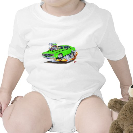 1970-74 Plymouth Duster Lime Car Shirt