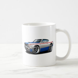 1970 AMC Rebel Machine Red-White-Blue Car Coffee Mug