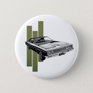 1970 American Muscle 2 Inch Round Button