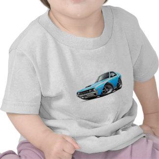 1970 AMX Big Bad Blue-White Car T-shirt