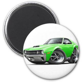 1970 AMX Lime Car Magnet