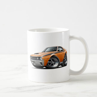 1970 AMX Orange-Black Car Coffee Mug