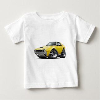 1970 AMX Yellow Car Baby T-Shirt