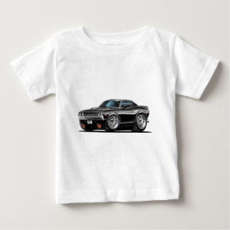 1970 Challenger Black Car Tshirts