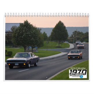 1970 Charger Registry - 2016 Calendar