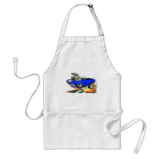 1970 Chevelle Blue-White Convertible Adult Apron