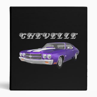 1970 Chevelle Muscle Car: Purple FInish: Binder