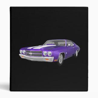 1970 Chevelle Muscle Car: Purple FInish: Binder