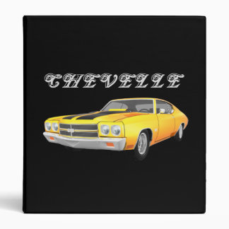 1970 Chevelle Muscle Car: Yellow FInish: Binder