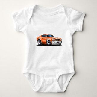 1970 Chevelle Orange-White Car Shirts