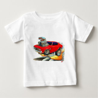 1970 Chevelle Red Car Tees