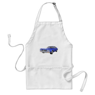 1970 Chevelle SS: Blue Finish: Standard Apron