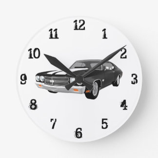 1970 Chevelle SS: Wall Clock
