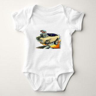 1970 Chevelle Tan Car Baby Bodysuit