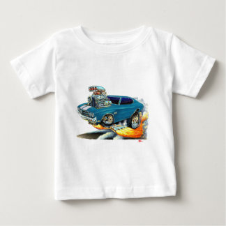 1970 Chevelle Teal Car Baby T-Shirt