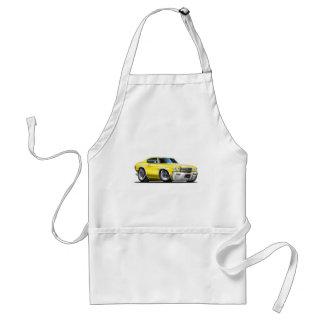 1970 Chevelle Yellow-White Car Standard Apron