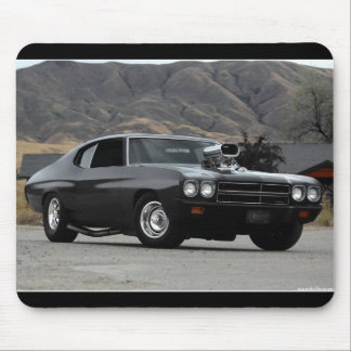 1970 Chevy Chevelle Drag Muscle Car Mouse Pad