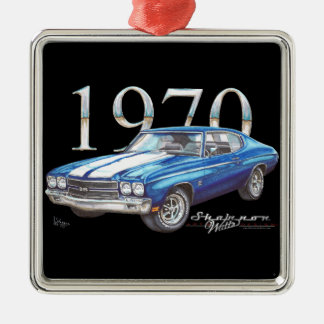 1970 Chevy Chevelle Super Sport Christmas Ornament