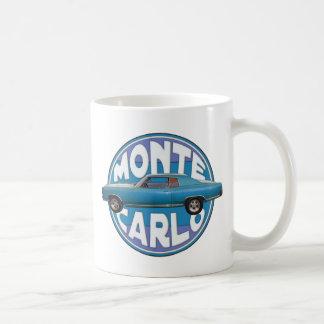 1970 Chevy Monte Carlo Light Blue Coffee Mug