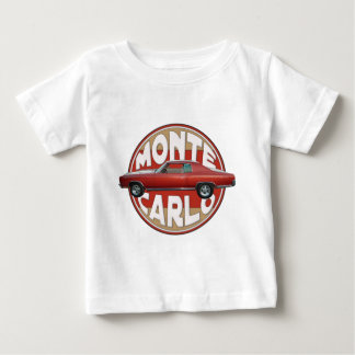 1970 Chevy Monte Carlo Red Line Baby T-Shirt