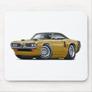 1970 Coronet RT Gold-Black Top Car Mouse Pad
