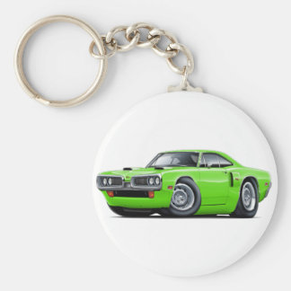 1970 Coronet RT Lime Car Keychain
